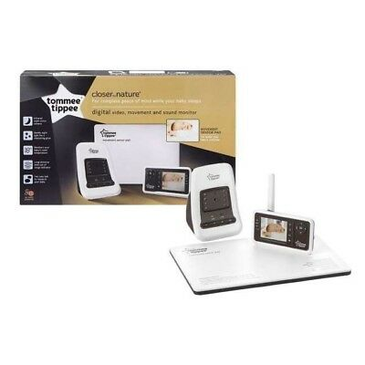 Tommee Tippee 'Closer to Nature' Digital Monitor Video and Movement Sensor - New