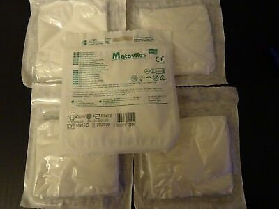 NON WOVEN SWABS STERILE  7.5x7.5 cm 4 PLY  FIRST AID QUALITY GAUZE  WIPES