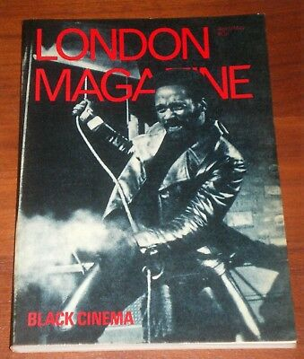 LONDON MAGAZINE: April/May 1972 - Vol. 12 No. 1 - Black Cinema