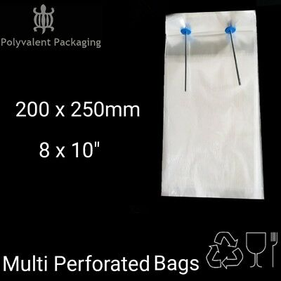 Perforated Bags Baguette Bread Bags, Bakery, snappy bags Deli Multi perforated