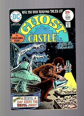 Ghost Castle #1 DC gothic horror  First issue!  fine condition