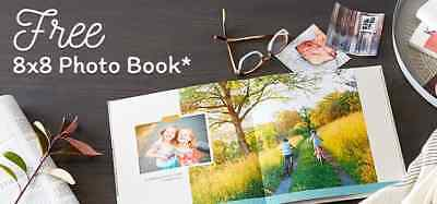 Shutterfly 8X8 Hard Cover Photo Book Code exp 3/31/19 starts with GE2V