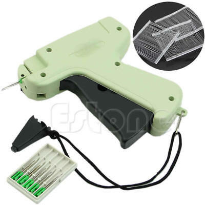 HO Tagging Gun +5 Steel Needle +1''1000 Kimble Tag Plastic Lightweight Clothes