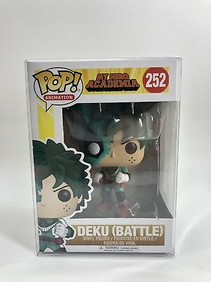 Funko POP! My Hero Academia Battle Deku w/ Soft Protector! Ships Out Fast!!