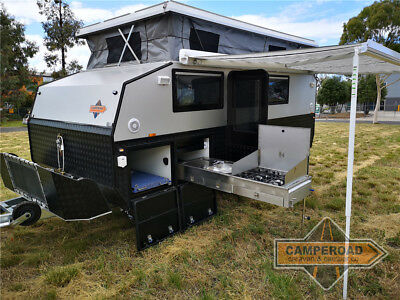 New 2018 Camperoad 15ft Hybrid Off Road Pop Top Caravan Spacer STL