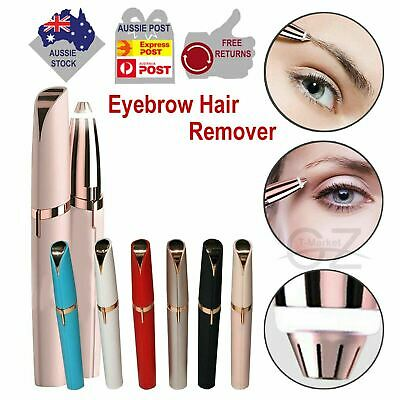Women Flawless Finishing Touch Painless Eyebrows Hair Remover with Package