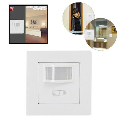 Occupancy Sensor PIR Motion Light Switch Presence Detection &Selection Switch