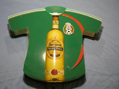 Mexican Soccer Jersey Jose Cuervo Bar Light Man Cave Football Mexicana LED works