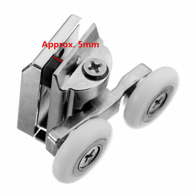 Bright 4 X Spare Shower Door Rollers/ Runners Bathtubs Home & Garden Guides/ Wheels 19mm In Diameter Lw030