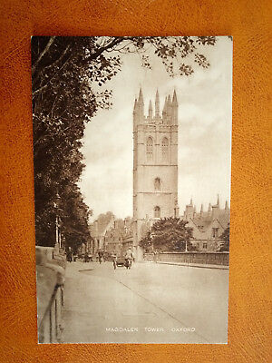 cpa ROYAUME UNI - OXFORD - Magdalen Tower - England