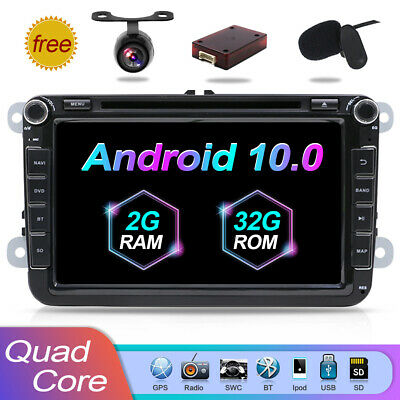 "8"" Quad Core Android7.1 2DIN Car DVD CD SD USB GPS Navi autoradio for Volkswagen"