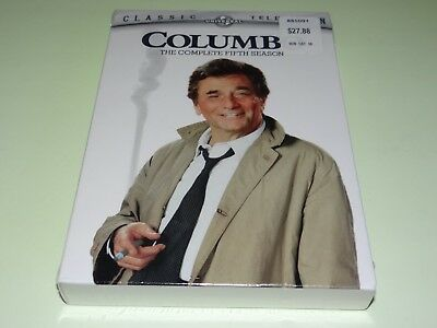 COLUMBO The Complete Fifth Season FIVE 5 (3 Disc DVD Set) 2006 Brand New/Sealed