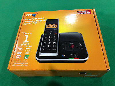 BT XENON 1500 Cordless Telephone with Answer Machine NEW IN BOX