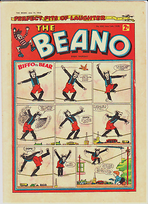 BEANO # 830 June 14th 1958 issue the comic