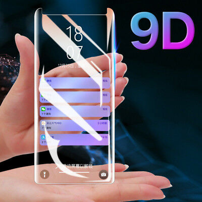 For Samsung Galaxy S9 S10 S8 Note 9 8 9D Tempered Glass Screen Protector Film