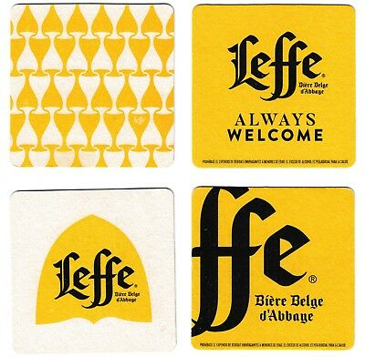 COLOMBIA Leffe Bierre 2018 - Special for Colombia marked - 2 beer coaster
