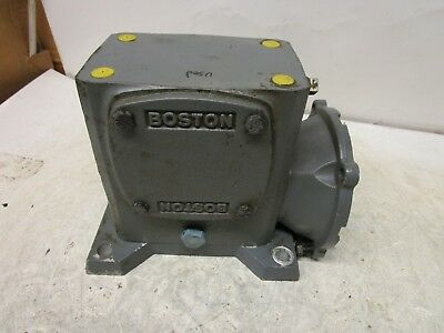 Boston Gear F724-20-B7-G 20:1 Ratio Gearbox Speed Reducer .570Hp 950Ft./Inch