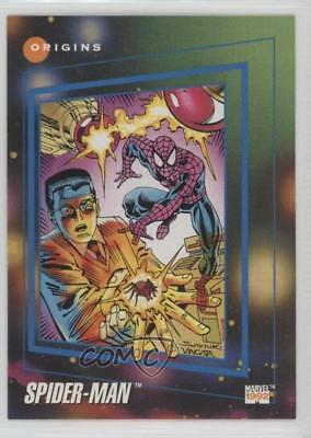 1992 Impel Marvel Universe Series 3 #162 Spider-Man Non-Sports Card 0c4