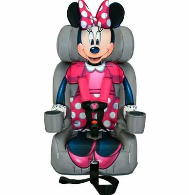 Car Seat For Girls Toddler Booster Seats Chair Kids Minnie Mouse 5 Point Harness
