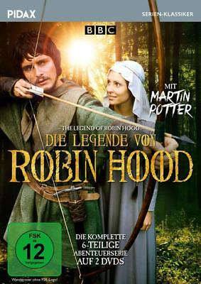 Die Legende von Robin Hood (The Legend of Robin Hood) | DVD | deutsch | NEU