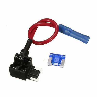 12V Car Add-a-circuit Fuse TAP Adapter Micro ATM APM Auto 10A Blade Fuse Holder