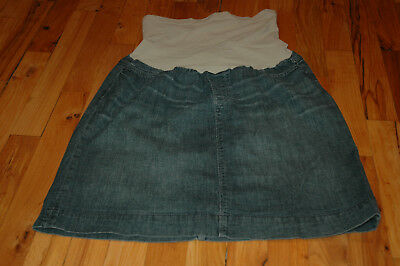A Pean in the Pod Maternity Jean Skirt - Size M Medium