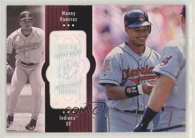 1998 SPx Finite Spectrum #77 Manny Ramirez Cleveland Indians Baseball Card