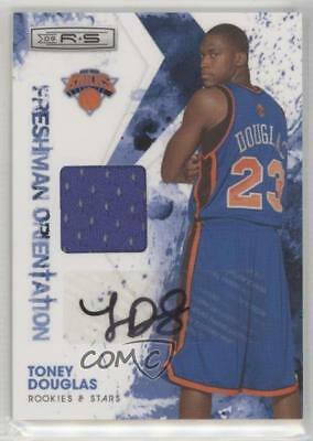 2009-10 Panini Rookies   Stars 27 Toney Douglas New York Knicks Auto Rookie  Card a1f453f7d