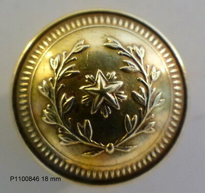 BOUTON   MILITAIRE   :      18  mm   N°1100846
