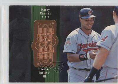 1998 SPx Finite #77 Manny Ramirez Cleveland Indians Baseball Card