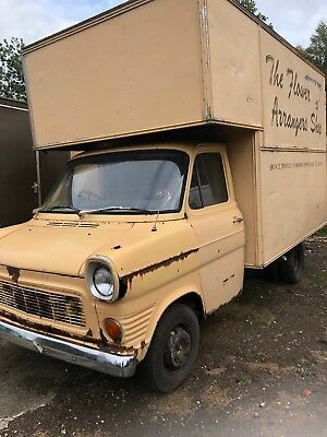 Classic transit Luton van with log book , complete, stood for months