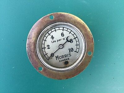 Early MORRIS Oil Gauge Bullnose Flatnose Cowley Oxford 8 Isis Major Vintage Car