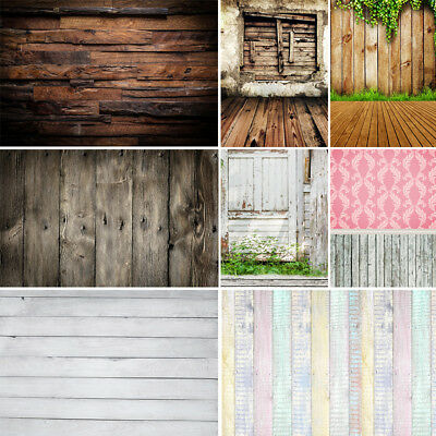 Vinyl Photo Backdrop Vintage Wood Photography Background Wooden Backdrop 10*10ft