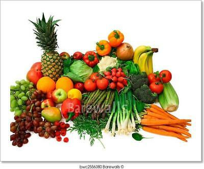 Fresh Vegetables And Fruits  Art Print/Canvas Home Decor Wall Art Poster - I