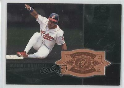 1998 SPx Finite #153 Manny Ramirez Cleveland Indians Baseball Card