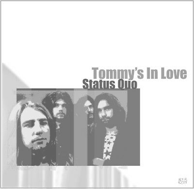 STATUS QUO green yellow flexi TOMMY'S IN LOVE rare PARFITT Rossi