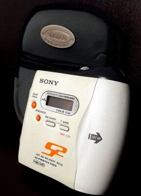 Sony MZ-S1 Portable Mini Disc Player Clean Working