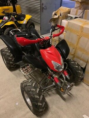 Hurricane 250cc off road quad bike
