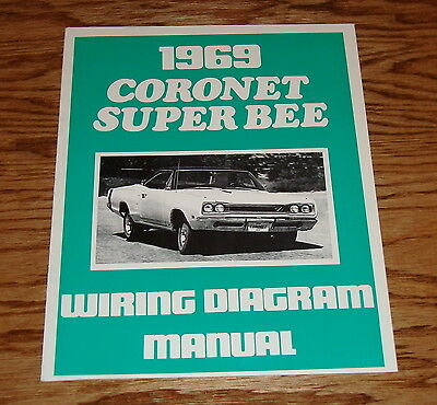 1969 DODGE CORONET    Super       Bee    Illustrated Facts Features