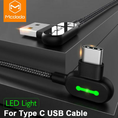 MCDODO Micro USB Type C Linghtning Cable Fast Charging For iPhone Samsung Xiaomi