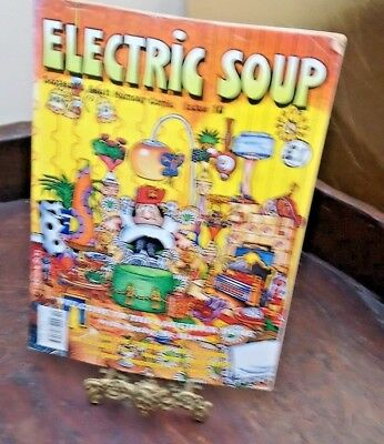 Electric Soup. Scotland's Adult Humour comic. Issue 10 Oct 1991