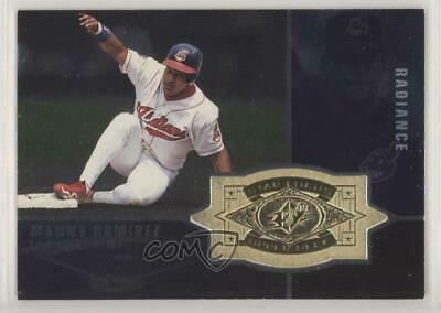 1998 SPx Finite Radiance #153 Manny Ramirez Cleveland Indians Baseball Card