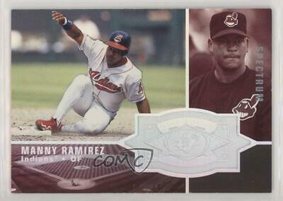 1998 SPx Finite Spectrum #153 Manny Ramirez Cleveland Indians Baseball Card