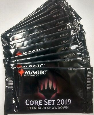 Magic The Gathering MTG M19 Core Set 2019 SEALED Standard Showdown Booster Pack