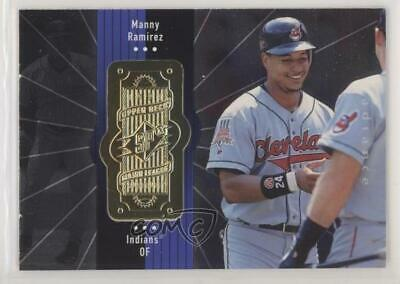 1998 SPx Finite Radiance #77 Manny Ramirez Cleveland Indians Baseball Card