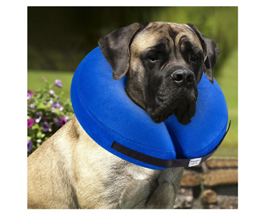 Protective Inflatable Collar for Dogs and Cats - Soft Pet Recovery Collar