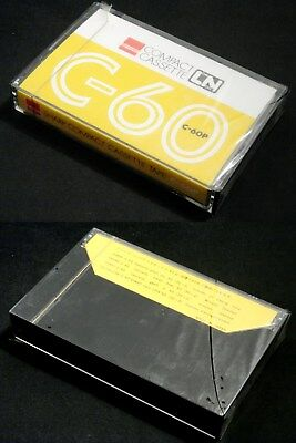 One(1) SHARP cassette tape LN C-60P Japan version Almost perfect condition