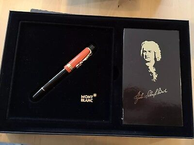 Mont Blanc Johann Sebastian Bach fountain pen limited edition