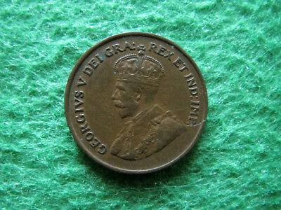 1924 Canada Small Cent - Nice Extra Fine - Scarcer - Free U S Shipping