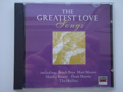 Various Artists - The Greatest Love Songs Volume 3. CD Album. (L09)